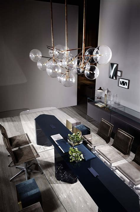 bolle pendant lights  gallotti radice dinner tables furniture dining room buffet table