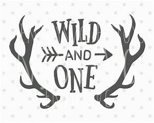 Wild and One SVG Files Baby Birthday svg Wild One Svg Cut file