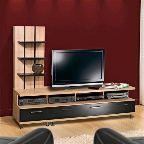 Modern Solid Wood Entertainment Centers For Flat Screen
