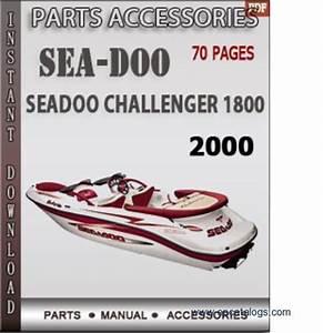 Seadoo Challenger 1800 2000 Spare Parts Manual Download