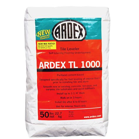 Ardex Floor Leveler Products by Ardex Tl 1000 Self Leveling Underlayment