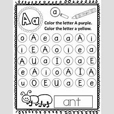 Letter Recognition Worksheets By Bilingual Teacher World Tpt