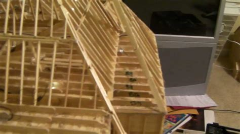 Building Popsicle Stick House Youtube   House Plans   #54151