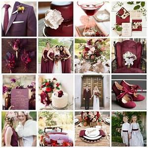 Marsala Wedding Theme Inspiration - Styling with