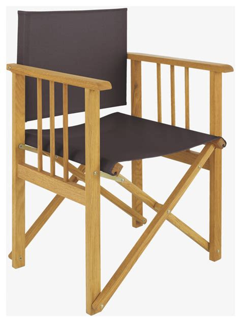 Folding Wood Directors Chair by Africa Wood Charcoal Directors Chair Habitatuk