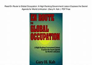 Read En Route to Global Occupation: A High Ranking ...