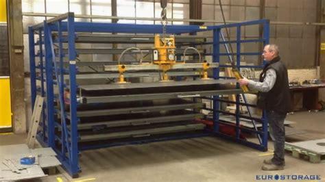 horizontal storage rack  metal sheets youtube