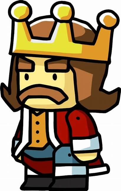 King Scribblenauts Leader Person Clipart Wiki Snu