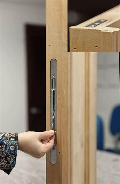 Lock Astragal Mortise Bolt Double Flush Doors
