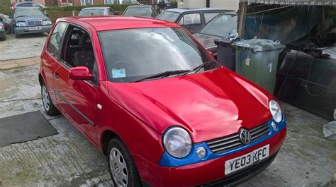 volkswagen lupo cool vw lupo seat arosa lovly car 55 mpg taxd and motd walsall