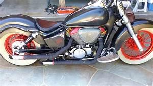 Gepäckträger Honda Shadow 750 : 2003 honda shadow ace 750 youtube ~ Kayakingforconservation.com Haus und Dekorationen