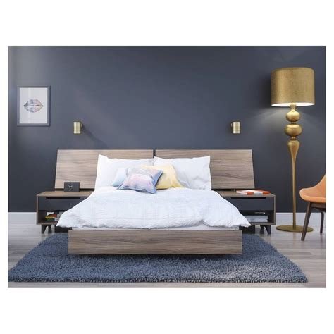 piece alibi full size bedroom set nexera ebay