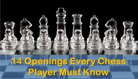 14 Openings Every Chess Player Must Know