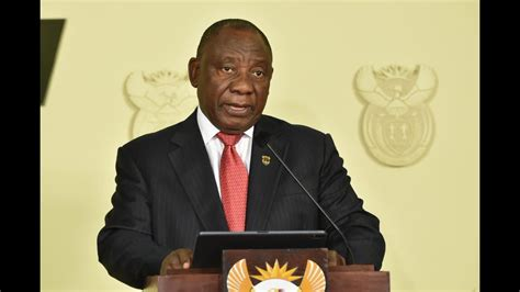 President cyril ramaphosa addresses the nation on sunday, 28 february. Cyril Ramaphosa Speech - Watch LiveRamaphosa delivers ...