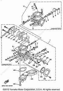 Yamaha Waverunner 1996 Oem Parts Diagram For Carburetor