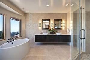 930 best images about salle de bain on pinterest coins With porte de douche coulissante avec reglette led miroir salle de bain