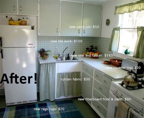Awesomely Cheap Kitchen Makeover