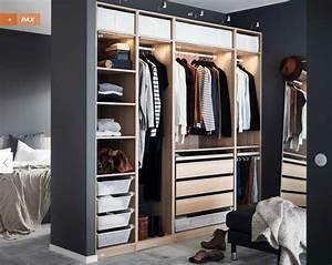 Dressing Rideau Ikea : cuisine wardrobes pax system ikea armoire dressing d ~ Dallasstarsshop.com Idées de Décoration