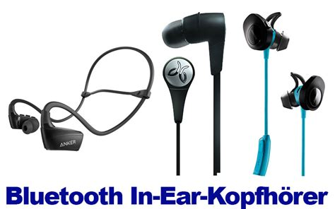 bluetooth kopfhörer test in ear bluetooth in ear kopfh 246 hrer mit mikrofon