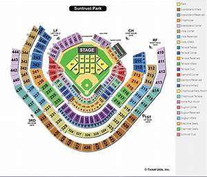 Braves Seating Chart View Suntrust Park Atlanta Ga Seating Chart View