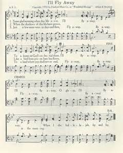 I'll Fly Away Sheet Music