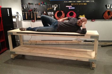 building  heavy duty workbench  woodworking