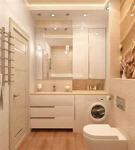 Mobilier Salle De Bain : mobilier salle de bain de taille minuscule en 20 id es malignes desktops pinterest ~ Teatrodelosmanantiales.com Idées de Décoration