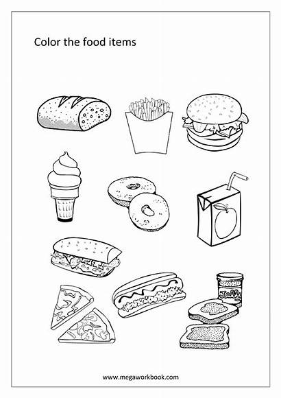 Coloring Sheets Worksheets Words Pages Printable Items