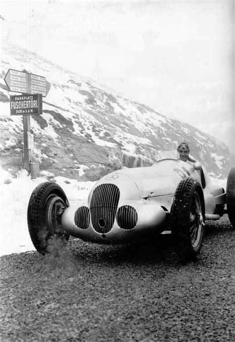 legendary pre war silver arrow grand prix car