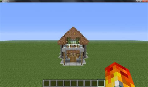 cool small house minecraft project