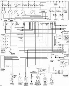 Instrument Cluster Wiring Diagram Of 1997 Chevrolet Astro