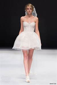 Wedding dresses mini skirt wedding dress for Mini skirt wedding dress