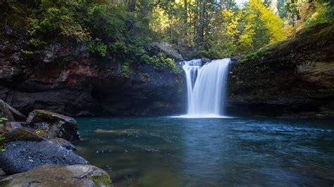 nature, Waterfall, Landscape, Water, Trees Wallpapers HD ...