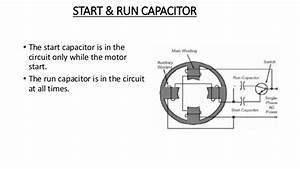 Relay Start Capacitor Run Motor With Capacitor Diagram