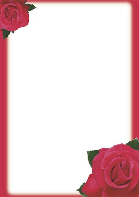 motivpapier briefpapier  blatt din  rote rosen