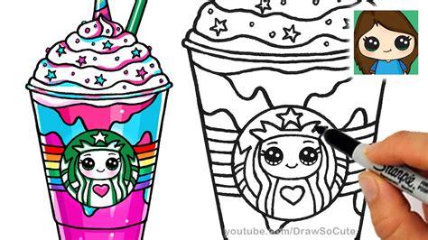 Pencil And In Color Drawn Milkshake