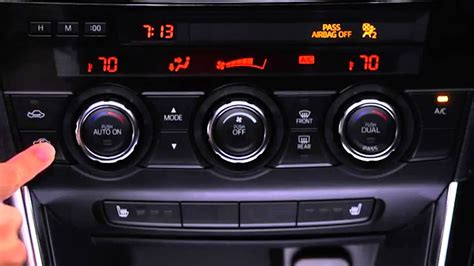 how to use the automatic climate air conditioner