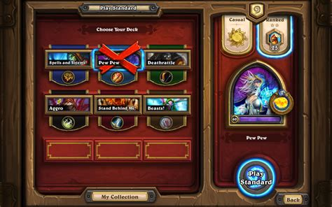 hearthstone net decks in casual a new way to play news hearthstone