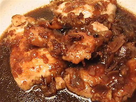 cuisiner les filets de poulet filet de poulet au vinaigre balsamique et à la framboise