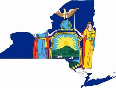 York Map Flag Clip Clipart Maine Clipartpanda