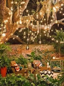 29, Fantastic, Garden, Lighting, Ideas