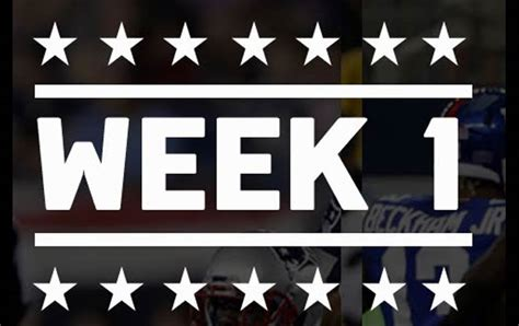 ultimate  nfl week  betting guide