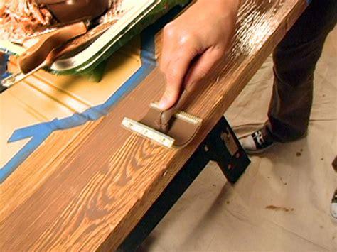 decorative paint technique woodgraining instructions