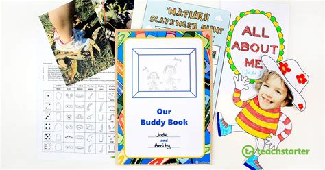 awesome buddy activity ideas  resources