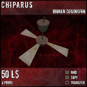 Second life marketplace chiparus broken ceiling fan