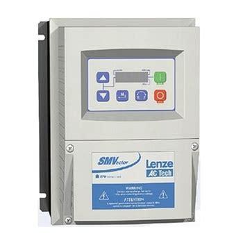 esv371n01sxc lenze ac tech smvector 0 5 hp 0 37 kw 120 240v 1 216 input nema 4 ip65