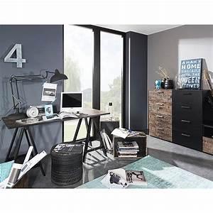 Schwarz Braune Möbel : schreibtisch sumatra vintage braun schwarz rauch select ~ Michelbontemps.com Haus und Dekorationen