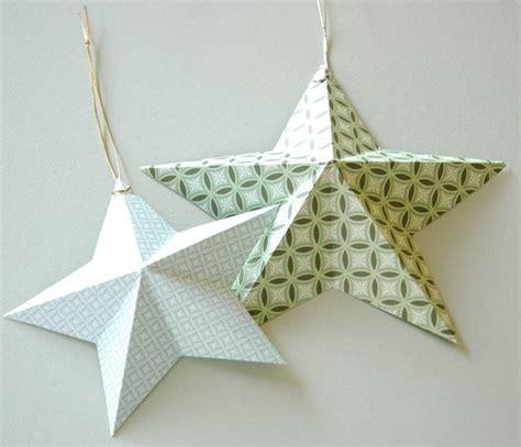 Weihnachsstern 5 Deko Bastelideen by Sterne Aus Dekorpapier Selber Falten Bastelideen