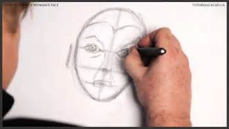 How to Draw Female Face Drawing