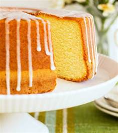 Southern Lemon Pound Cake Sour Cream